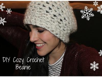 DIY Cozy Crochet Beanie