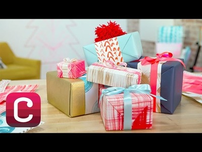 DIY Painted Holiday Gift Wrap with Courtney Cerruti