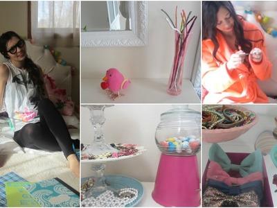 DIY Room Organization  + Decor!