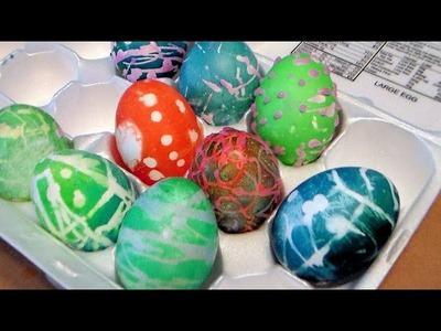 Easy Batik Easter Eggs Real Family Craft Vlog