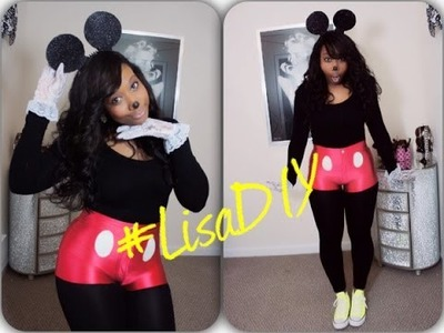 Easy DIY Halloween Costume | Mickey Mouse