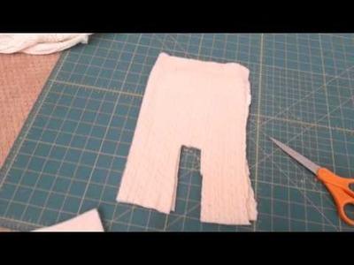 Easy DIY newborn pants tutorial