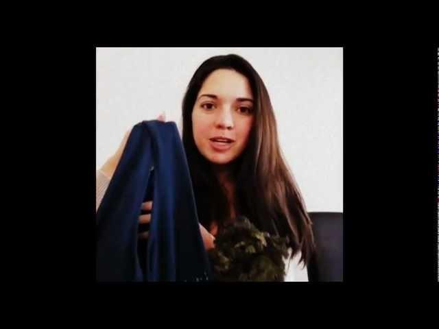Eco-Friendly Craft: Make a reusable shopping bag using an old t-shirt!