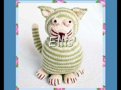 Ellis Cat Knitting pattern