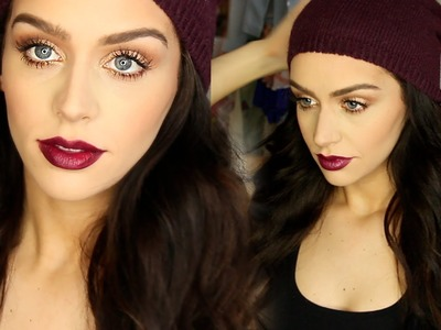 Get Ready with Me: Shopping Day! Makeup, Hair & Outfit