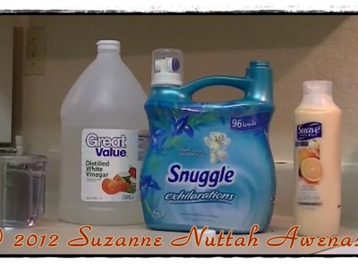 Homemade Fabric Softener - Quick Easy And Inexpensive