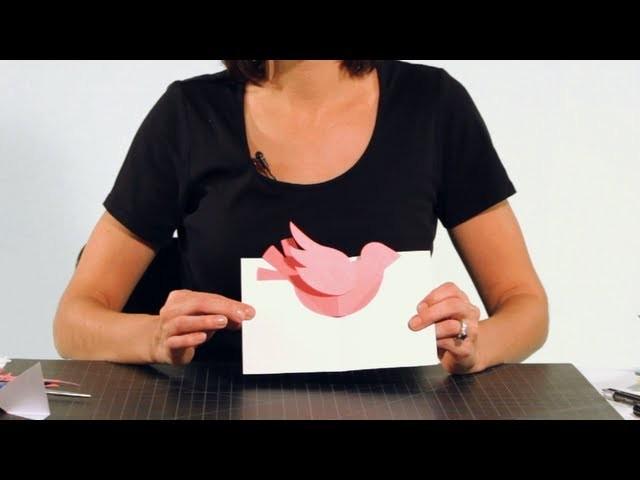 How to Assemble a Bird Pop-Up Card | Pop-Up Cards