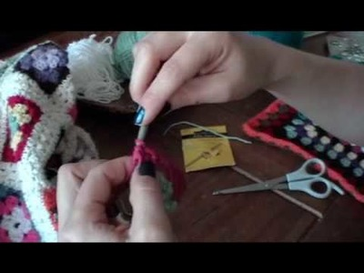 How to crochet a granny square, part 3 (of 3)