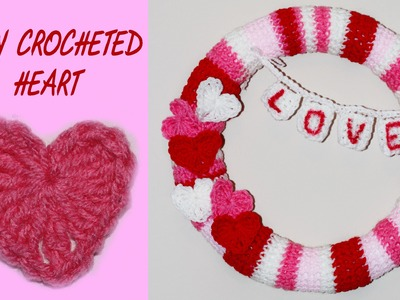 How To Crochet A Heart I Beginners Tutorial #18
