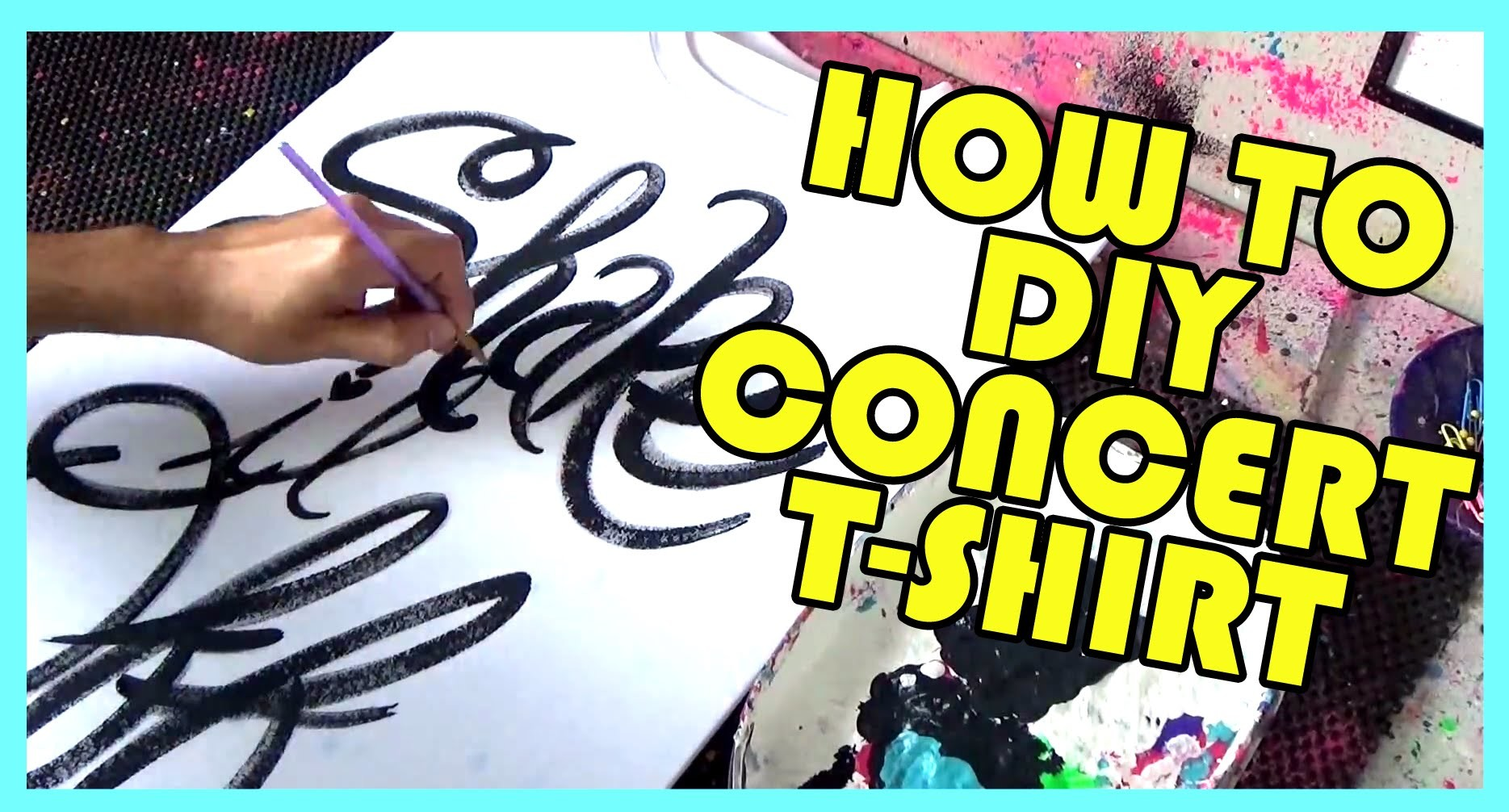 How To DIY Taylor Swift Shake It Off Concert Shirt Ideas Tutorial