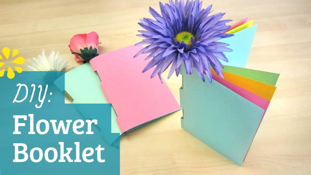 How to Make a Book: Flower Booklet