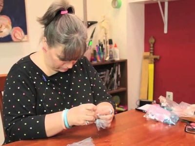 How to Make a Tulle Ponytail Holder : Cute Crafts