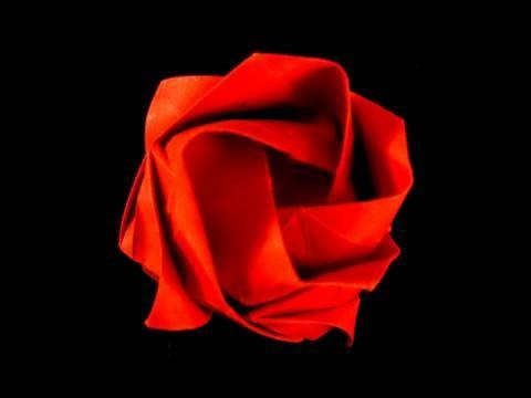 How to make an Origami Rose revisited