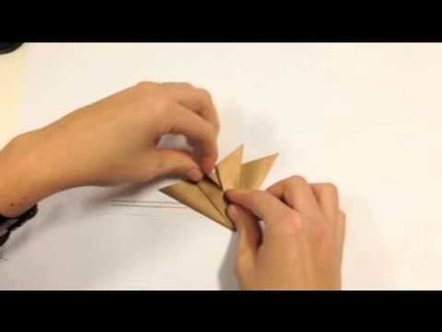 How to make an origami star!