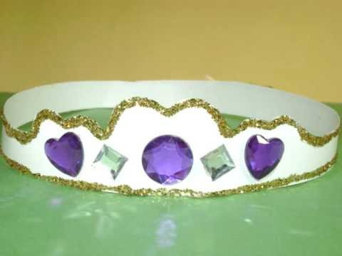 How to make crown or tiara for your little Princess - EP