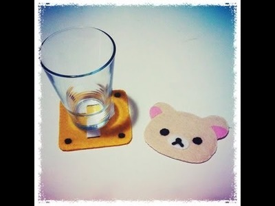 How to Make Felt Coasters DIY