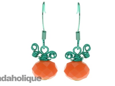 How to Make the Petite Pumpkin Earrings