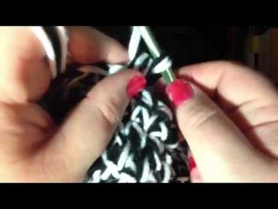 How to Reverse Half Double Crochet