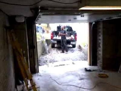 Liftmaster 3800 Garage Door Opener On A Low Headroom Steel-Craft Door