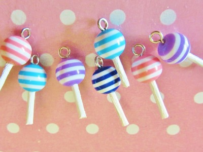 Lollipop with beads - lollipop con le perline ♥