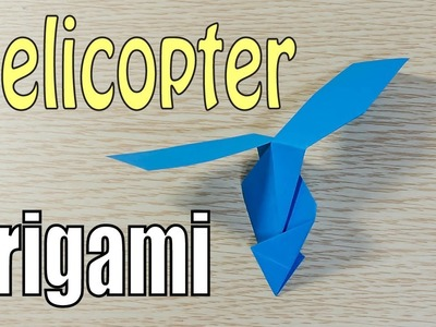 ORIGAMI Paper Helicopter