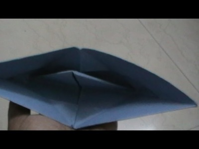 Paper boat craft ( Tamil ) - paper craft by a kid for the kids - using origami