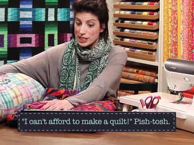 Quilty: Attack of the Pre-Fab Quilts!