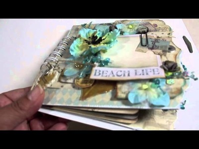 Scrapbooking SeaShore Mini Album LWP Class (24th Apr)