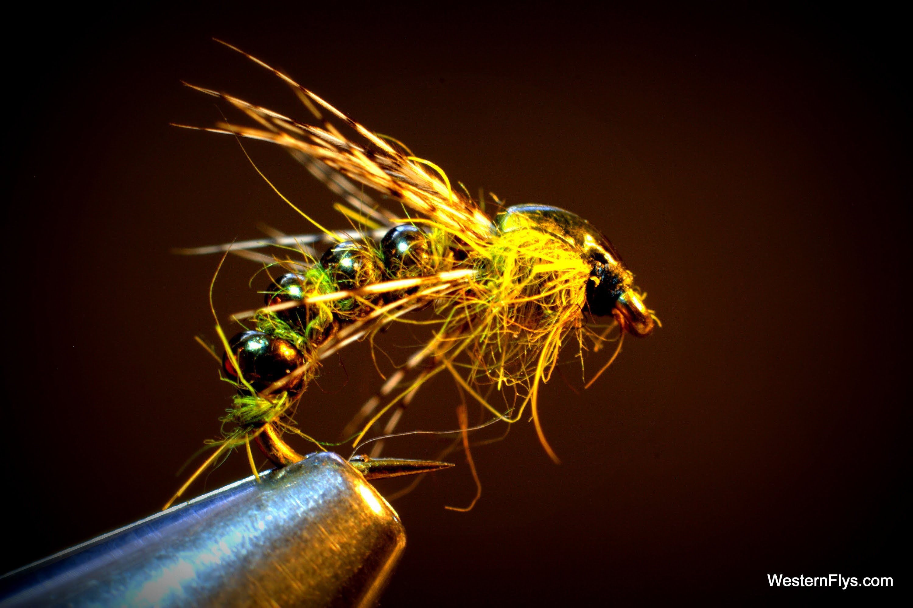 Seed Bead Caddis Emerger