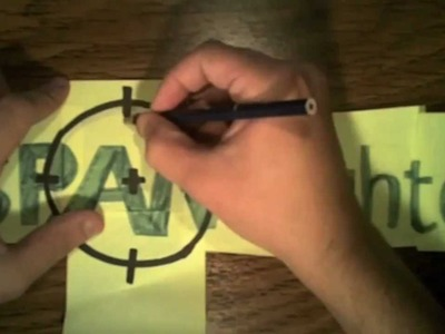 Stop Motion Speed Drawing of the SPAMfighter Logo