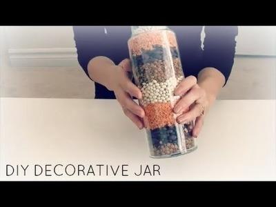 ASMR DIY DECORATIVE JAR Crinkling.Tapping.Whispering.Pouring