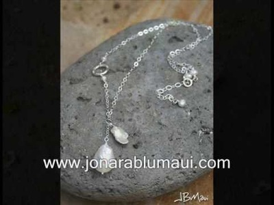 Beach Bride Jewelry - www.jonarablumaui.com