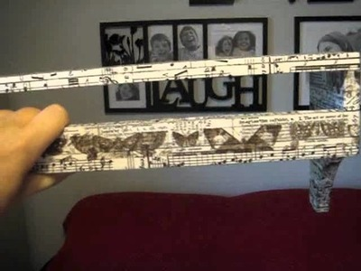 CRAFT - Mod Podge Tim Holtz Tissue Tape Shelving (2011 10 30 - 43)