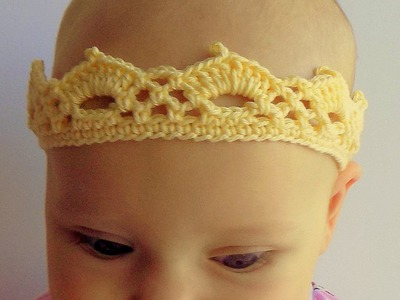 Crochet a Crown for a Little Princess - DIY Crafts - Guidecentral