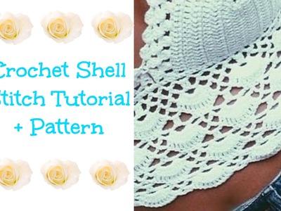 Crochet Shell Tutorial + Pattern