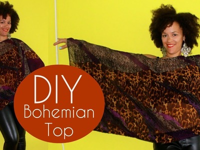 DIY Bohemian Top | Sewing For Beginners