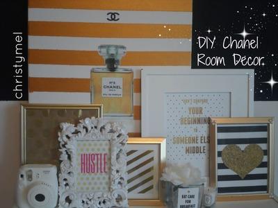 DIY Chanel Room Decor