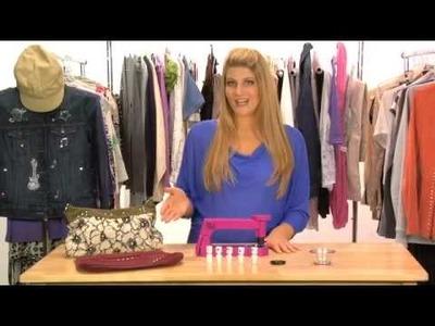 DIY Fashion Ideas: Decorating with Rhinestones, Gems and Studs - MyNextStyle.com