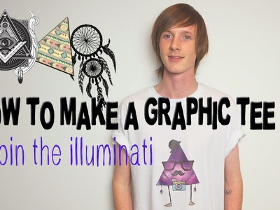DIY: HOW TO SCREEN PRINT. MAKE A GRAPHIC SHIRT