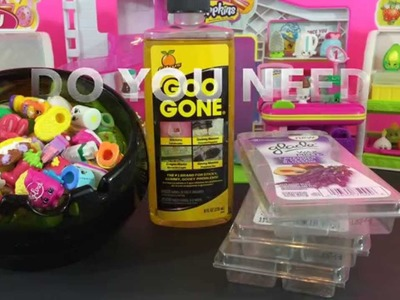DIY How To Store Shopkins For FREE! Glade Wax Melts Reusable Portable Storage Container Idea