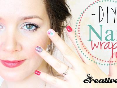 DIY Nail Wraps - Nail Art Made Easier!