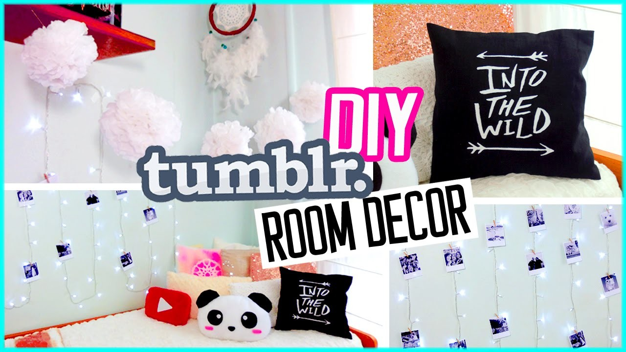 Diy tumblr room decor diy polaroids urban outffiters for Room decor videos diy