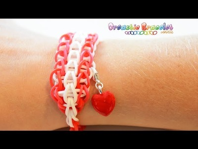 DIY Tutorial - Triple single CREASTIC BRACELET loom
