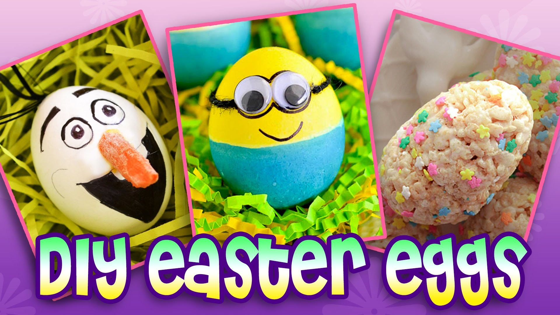 Easter Eggs | Top 10 DIY Easter Egg Ideas!