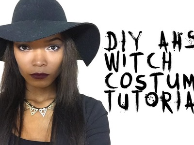 EASY DIY American Horror Story Coven Witch Halloween Costume Tutorial | HEARTLICIA