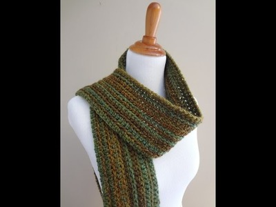 Episode 169: How to Crochet the Wise Oak Ribbed Scarf