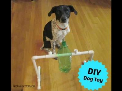 Fun DIY Dog Toy and Treat Dispenser