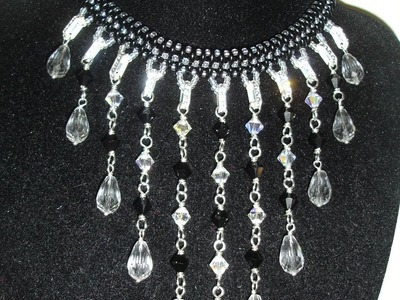 Handmade Jewelry: Falling Tears Necklace Part 2 of 2