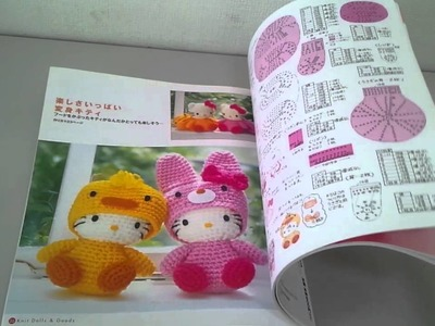 How to Crochet * Hello Kitty, Amigurumi book *