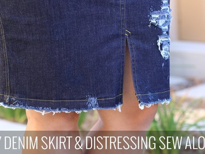 How To Distress Your DIY Denim Projects